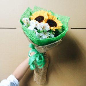 Flores para el día mundial del abrazo