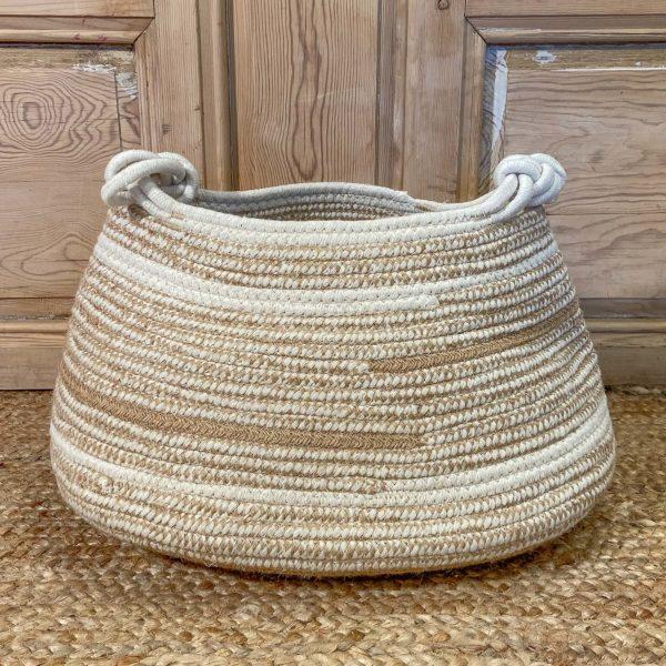cesto textil algodon